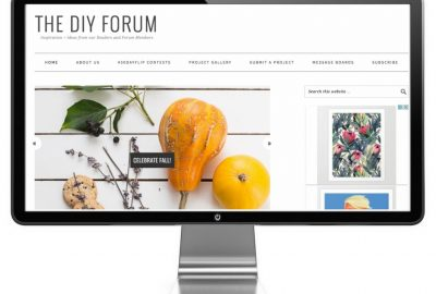 Foodie Pro DIY Forum Webdesign by Snazzy Little Things