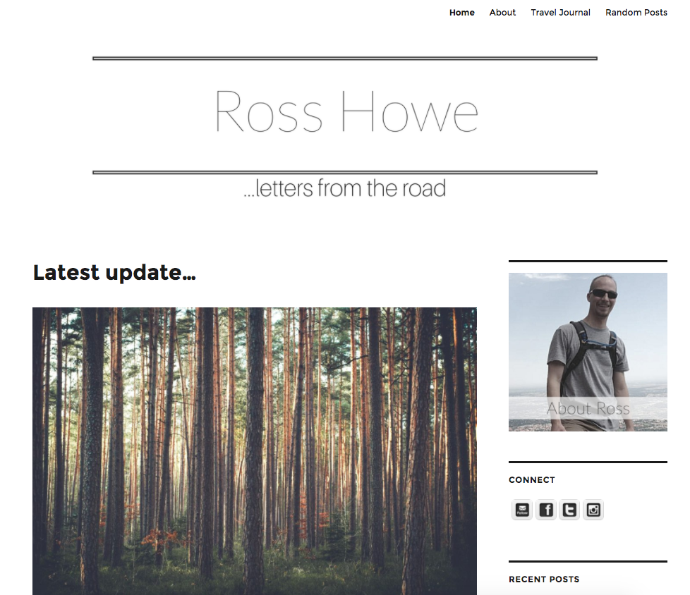 rosshowe-com-by-snazzy-design-services