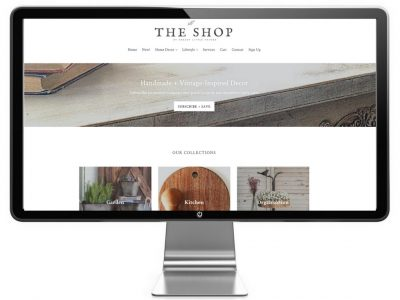 Shopify Theme The Shop by Snazzy Little Things